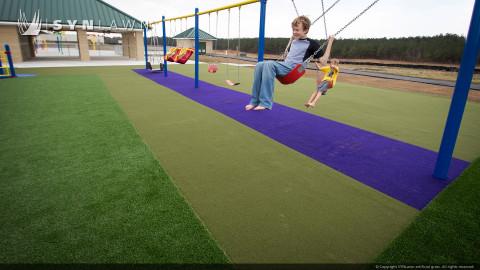 playground artificial grass in mount pleasant